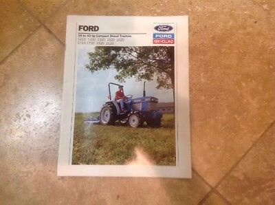 1993 Ford Tractor Brochure