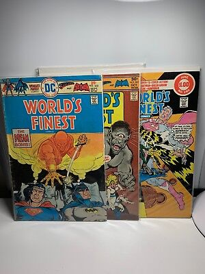 WORLD'S FINEST #232 241 280* DC Comic Lot * 3 Comics Superman Batman