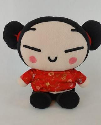 "Pucca South Korean Vooz Anime Collectible Stuffed Plush Doll 11"" Toy"