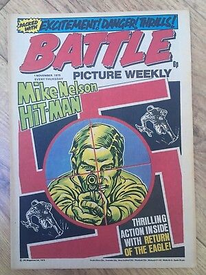 BATTLE PICTURE WEEKLY issue #35 : 1 Nov 1975 - classic boys' war comic