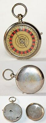 Antique German Pocket Roulette in the form of Pocket Watch 1920-30's