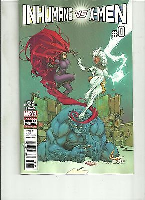 Inhumans Vs X-Men #0 Marvel Comics 1St Print 2016