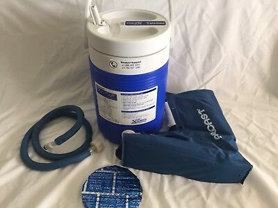 Aircast Cryo/Cuff Cold Therapy Ankle Cryo/Cuff Non-Motorized Gravity-Fed Cooler