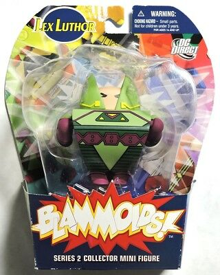 S849. Blammoids Series 2 LEX LUTHOR Collector Mini Figure from DC Direct (2010)