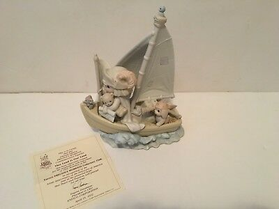 Precious Moments This Land is Our Land Christopher Columbus 500 yr annivers-NIB
