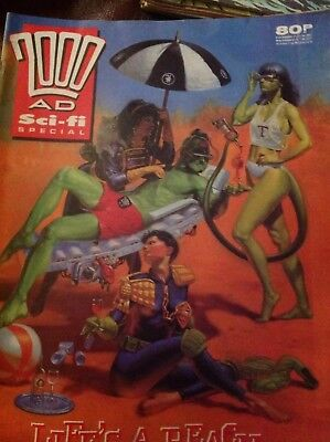 2000AD Sci Fi Special 1989