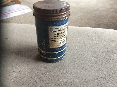 Vintage GoodYear Good Year Resilvering Kit With contents.