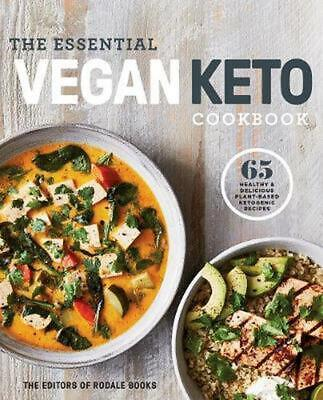 The Essential Vegan Keto Cookbook: 65 Healthy and Delicious Plant-Based Ketogeni