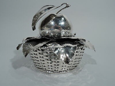 Buccellati Basket - Sweet & Charming Fruit Apple - Italian Sterling Silver