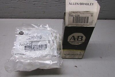 Allen Bradley 700-C2B Front Deck Contact Cartridge Lot of 10!