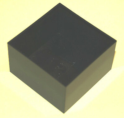 BLACK ABS POTTING BOXES, 40x40x20 - 5 off, 50x50x30 - 2 off