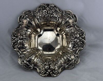 "Francis I by Reed & Barton 11 1/4"" Sterling Silver Large Footed Bowl Dish X569F"