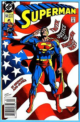 SUPERMAN LOT #53-TRUTH JUSTICE AND THE AMERICAN WAY 10 COPIES ORDWAY-a HI/GRDS