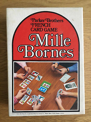 French Card Game Mille Bornes 1971 Vintage