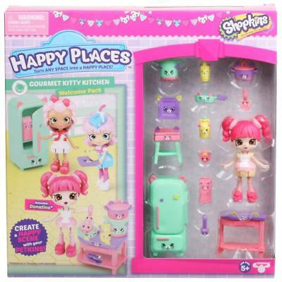 Happy Places Shopkins Season 3 Welcome Pack - Gourmet Kitty Kitchen