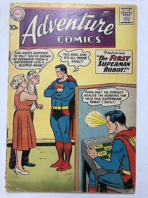 Adventure Comics #265 DC Comics Oct 1959 GD+ Silver Age Classic!