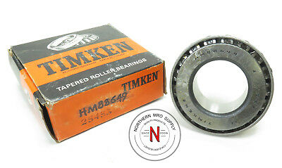 """Timken Hm88649 Tapered Roller Bearing Cone, Id: 1.375"""", W: 1.000"""""""