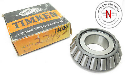 """Timken 78214C Tapered Roller Bearing Cone, Id: 2.125"""", W: 1.3085"""""""