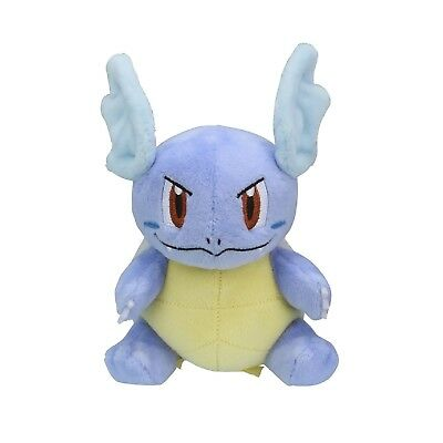 Wartortle Kameil Plush Doll Pokemon fit Pokemon Center Japan Original