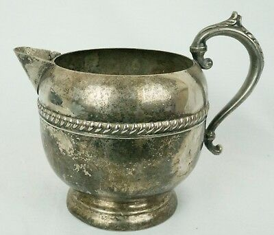VINTAGE Silver on Copper Tea Pot Cup With handle