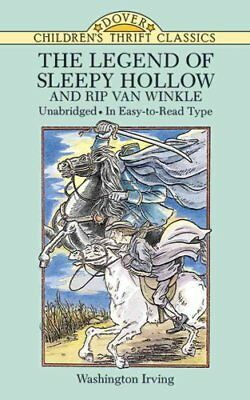 Dover Children's Thrift Classics: The Legend of Sleepy Hollow and Rip Van...