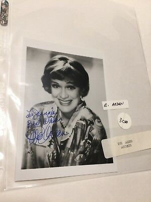 EVE ARDEN Hand Signed 5 X 7 Autographed Photo - OUR MISS BROOKS - GREASE