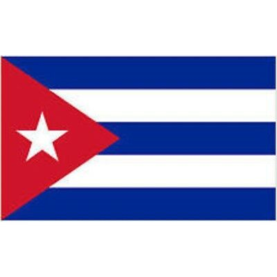 Cuba Cuban 3' X 2' 3ft x 2ft Flag With Eyelets Premium Quality By 3ft x 2ft
