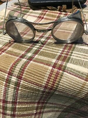 Vintage  Kings Safety Goggles - Steam Punk Glasses - Size F