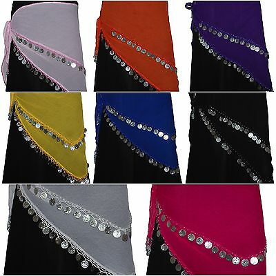 Belly Dance Dancing Costume Hip Skirt Scarf Whole Sale - 12 Pcs pack