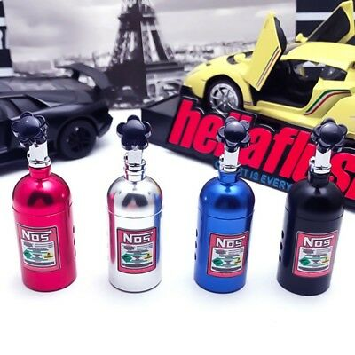 NOS Bottle Air Freshener Car Scent JDM Nitros Bottle Diffuser Clip-on