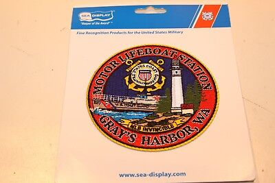 Uscg Patch Coast Guard Motor Lifeboat Station Gray's Harbor Wa Uscgc Invincible