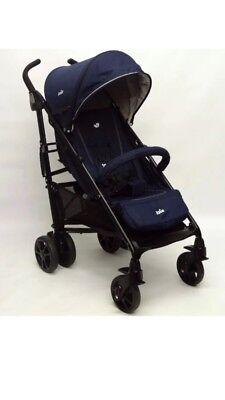 Joie Brisk LX Stroller - Navy Blue Includes Raincover