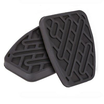 1 Pair Auto Brake Clutch Pedal Pad Rubber Cover for Nissan Qashqai 2007 - 2016