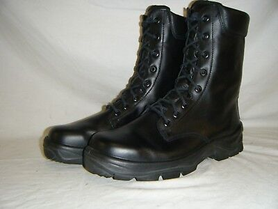 British Army Issue Combat Para Leather Steel Toe Cap High Leg Boots Size 10 (1