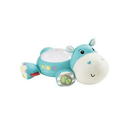 Fisher Price - Hippo Plush Toy Cuddle Projection Soother (cgn86) - Fisher