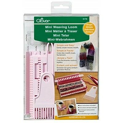 Clover Single Mini Weaving Loom-