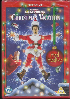 National Lampoon's Christmas Vacation R2 Dvd Chevy Chase Randy Quaid New/sealed
