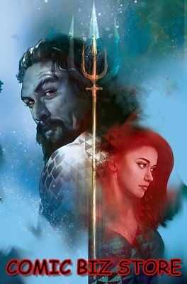 Aquaman #42 (2018) 1St Printing Drowned Earth Movie Variant Cover Dc Universe