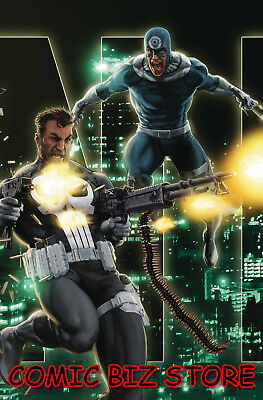 Marvel Knights 20Th #2 (Of 6) (2018) 1St Print Andrews Connecting Variant Cover