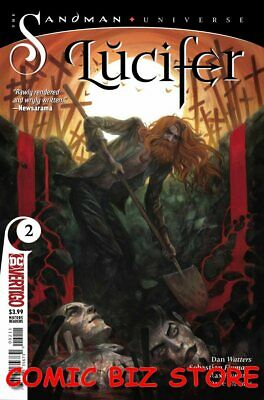 Lucifer #2 (2018) 1St Printing Bagged & Boarded Dc Comics