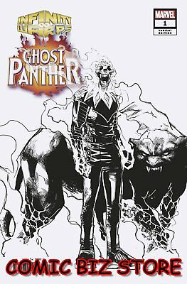 Infinity Wars Ghost Panther #1 (Of 2) (2018) Scarce 1:10 Ramos Design Variant