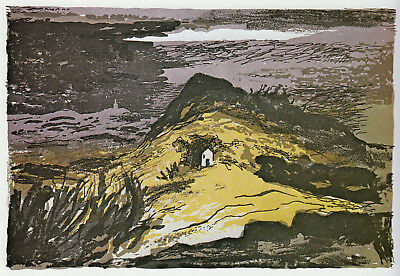 Grongar Hill, Carmarthen, John Piper print in 10 x 12 inch mount ready to frame