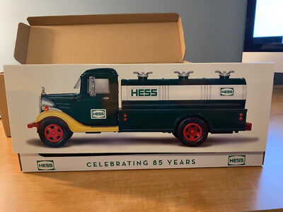 2018 HESS TOY TRUCK 85th ANNIVERSARY COLLECTOR'S LIMITED EDITION NIB.