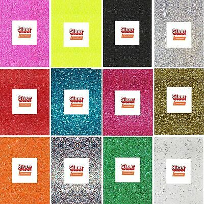 A4 Glitter Vinyl Sheets - Siser Easyweed-HTV Iron On Heat Press- Choose Quantity
