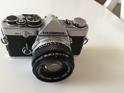 Olympus OM2n With 50mm Olympus Zuiko Lens