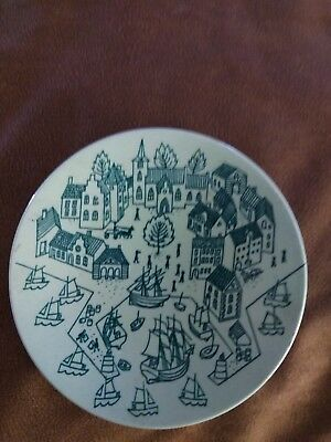 Vintage Nymolle Art Faience Hoyrup. Made in Denmark Limited Edition 4006