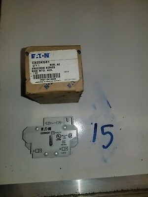 Eaton Culter-Hammer C320KGS1 Normally Open  Auxiliary Contact  NEW NO BOX