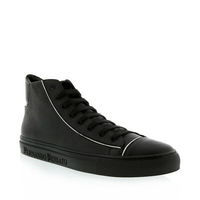 Kardinale Men's High Top Leather Sneaker