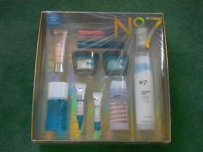 *** No7 Star  Beauiy Collection skin gift set facial aging cream Over £140 worth