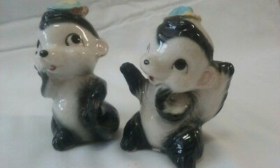 Shunk Salt & Pepper Shakers Pair